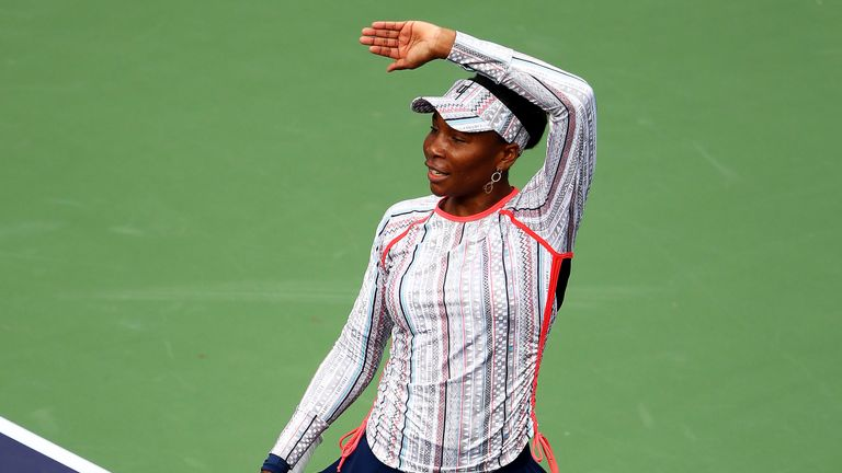 Venus Williams has been showing showing vintage form