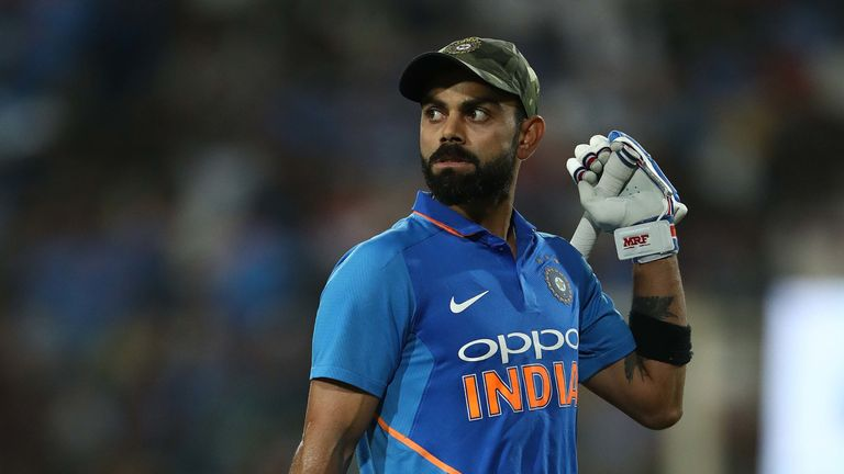Virat Kohli will captain India at the World Cup for the first time