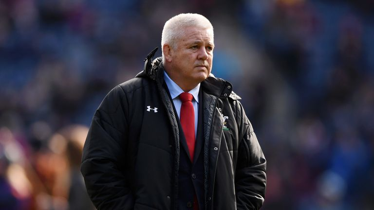 Warren Gatland will welcome Joe Schmidt's Ireland to Cardiff on Saturday