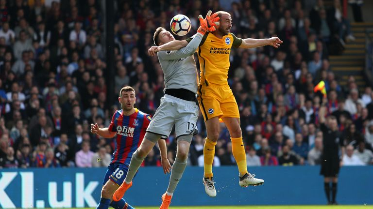 Crystal Palace and Brighton clashes are always physical affairs