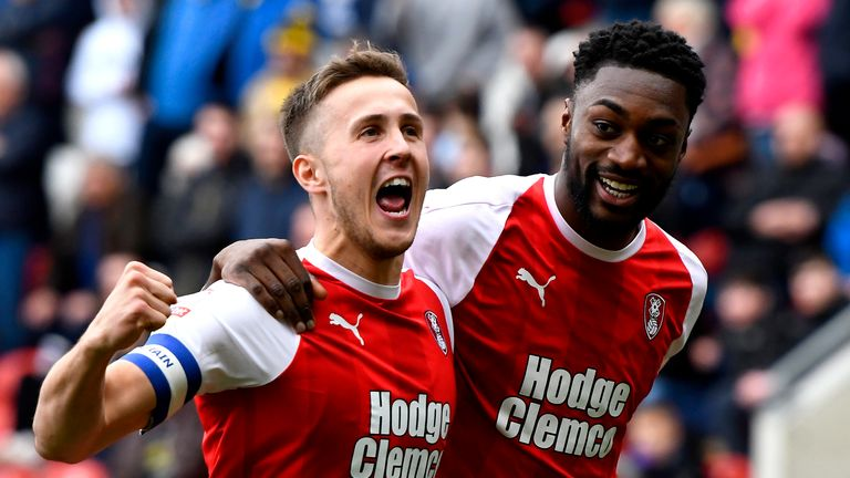 Rotherham's Will Vaulks has been included