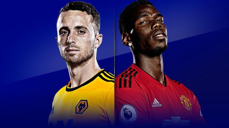 Wolves v Man Utd: live on Sky Sports
