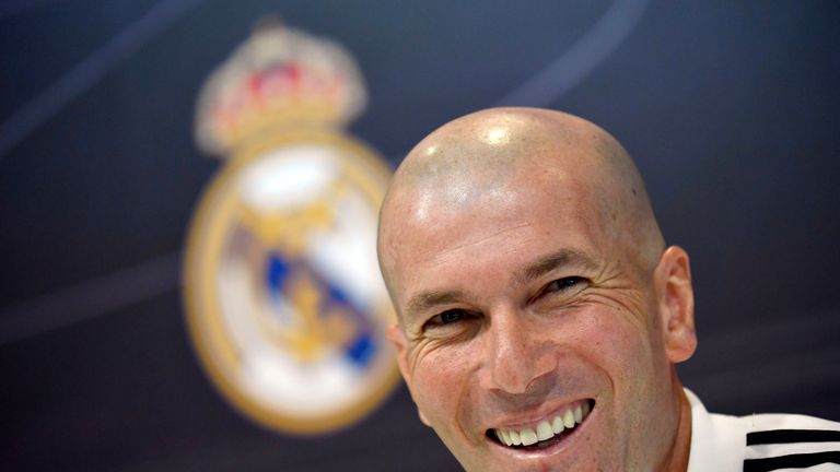 Real boss Zinedine Zidane says he still has respect for Bale