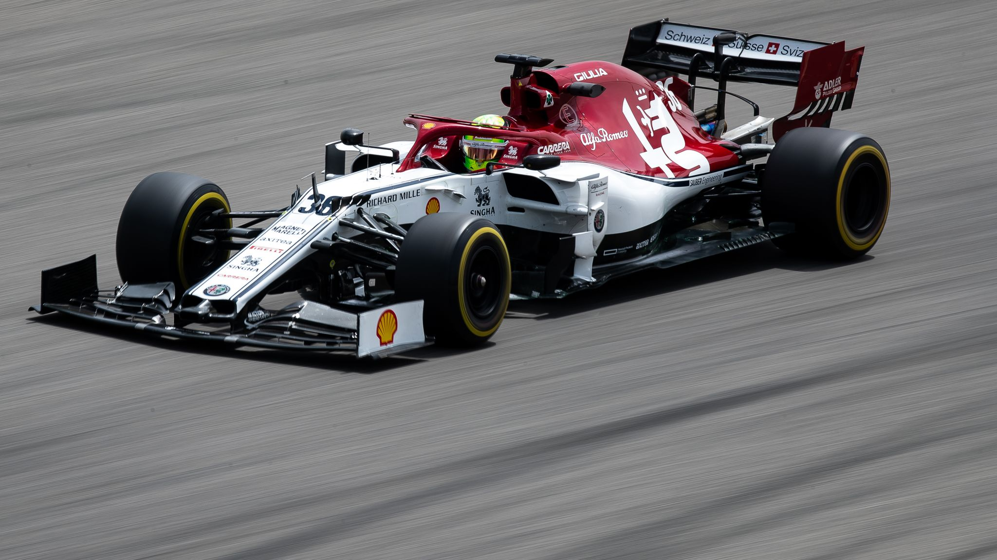 Bahrain Test George Russell Fastest For Mercedes Mick Schumacher Sixth In The Alfa Romeo F1 News