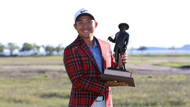 C.T Pan secured his maiden PGA Tour title at the RBC Heritage