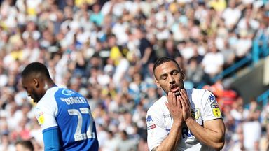 Kemar Roofe reacts after a missed chance against Wigan