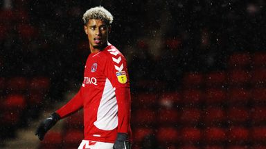 Lyle Taylor stepped up to take a penalty for Charlton... after their friendly in Malaga had already been abandoned!