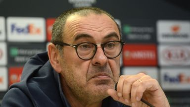 Maurizio Sarri says managing Juventus is a 'step forward' from Chelsea