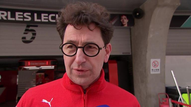 Ferrari boss Mattia Binotto explains the decisions behind Charles Leclerc's team orders