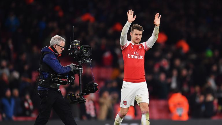 Aaron Ramsey has played his last match for Arsenal