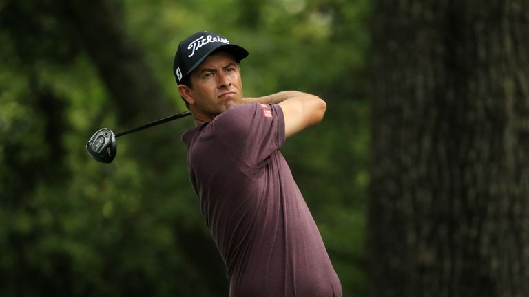 Adam Scott won the Masters in 2013