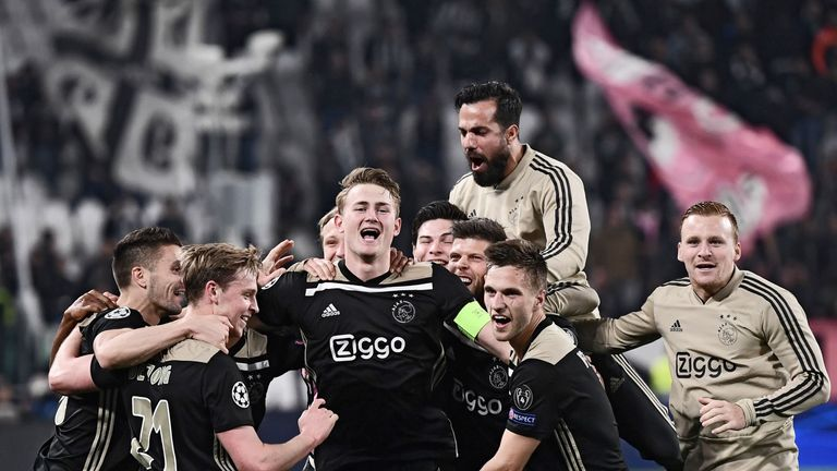 Ajax's young talent have been making waves across Europe