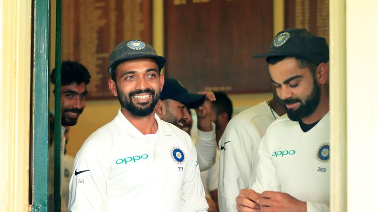 Ajinkya Rahane will be the first Indian to play for Hampshire