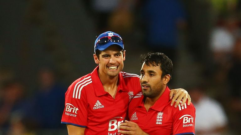 Alastair Cook and Ravi Bopara played 58 One-Day Internationals for England together