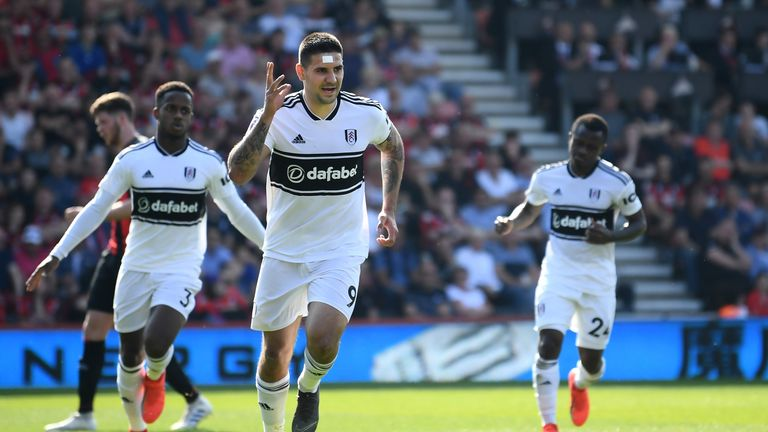 Mitrovic's goal gave Fulham their first away league win of the season