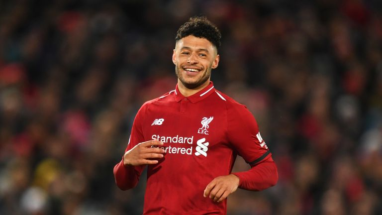 Alex Oxlade-Chamberlain returned to action at the back end of last season