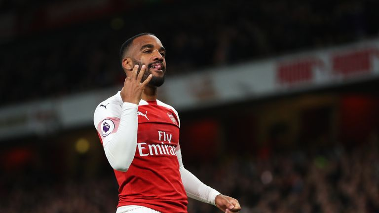 Alexandre Lacazette says Arsenal are improving month by month