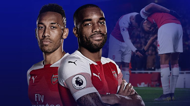 Pierre-Emerick Aubameyang and Alexandre Lacazette are set to feature against Watford on Monday - but will it be from the start?