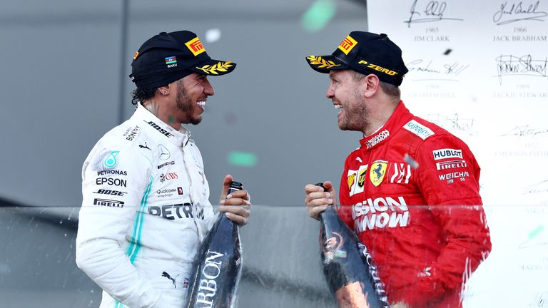 Lewis Hamilton and Sebastian Vettel will continue their quest for the F1 2019 title