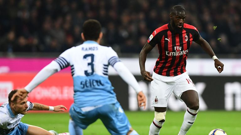 Tiemoue Bakayoko spent the 2018/19 campaign on loan at AC Milan where he made 31 league appearances for the Serie A club