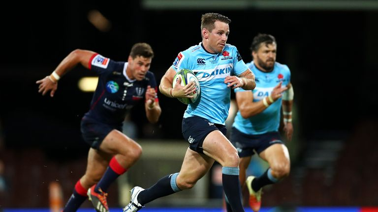 Foley will leave the Waratahs as their most-capped fly-half with 119 matches
