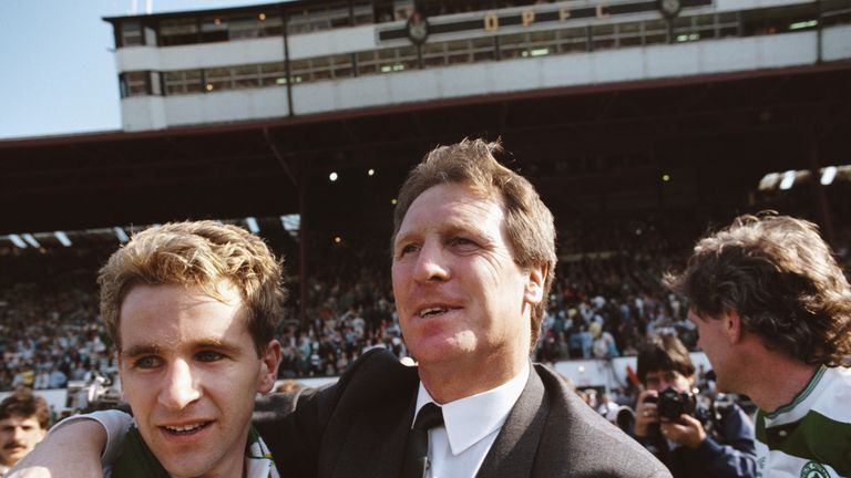 McNeill had two successful spells as Celtic manager after his hugely successful playing days