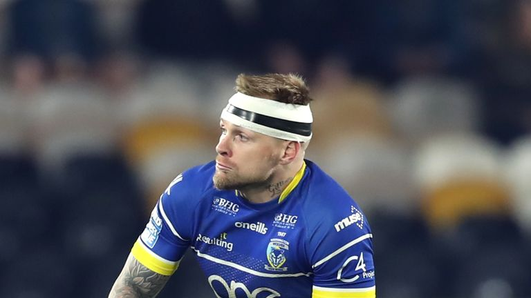Blake Austin has an ankle strain and could miss the Challenge Cup final