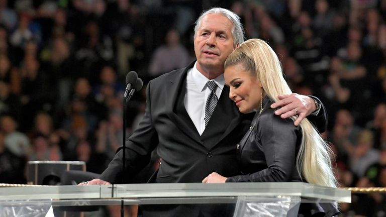 Bret Hart completed his Hall of Fame tribute to Jim 'the Anvil' Neidhart after being attacked during the ceremony