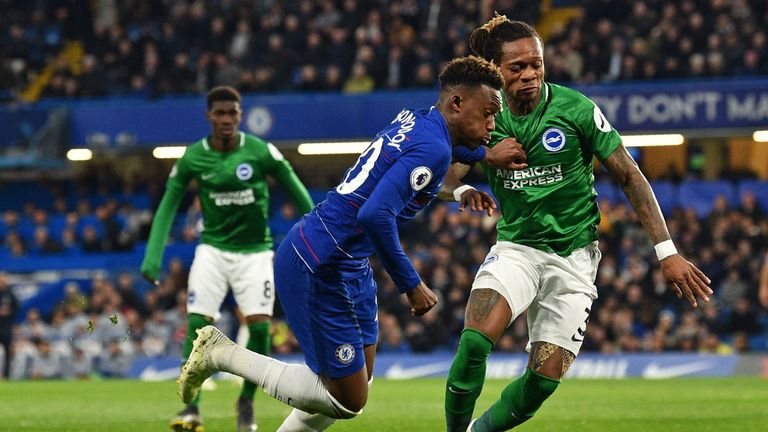 Callum Hudson-Odoi: Cesar Azpilicueta says youngster can become a key player for Chelsea
