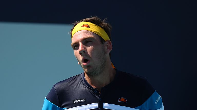 Cameron Norrie lost to Serbia's Janko Tipsarevic in Houston