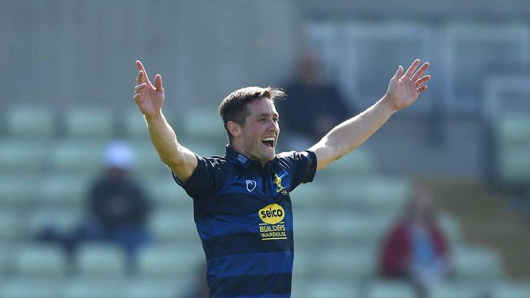 Chris Woakes took three wickets on his return from injury