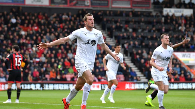 Chris Wood's goal to equalise was his first in seven games