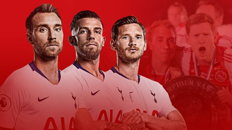 Tottenham players Christian Eriksen, Toby Alderweireld and Jan Vertonghen will be facing former club Ajax in the Champions League semi-final