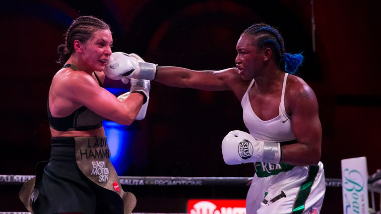 Shields controlled the fight from the start at Atlantic City