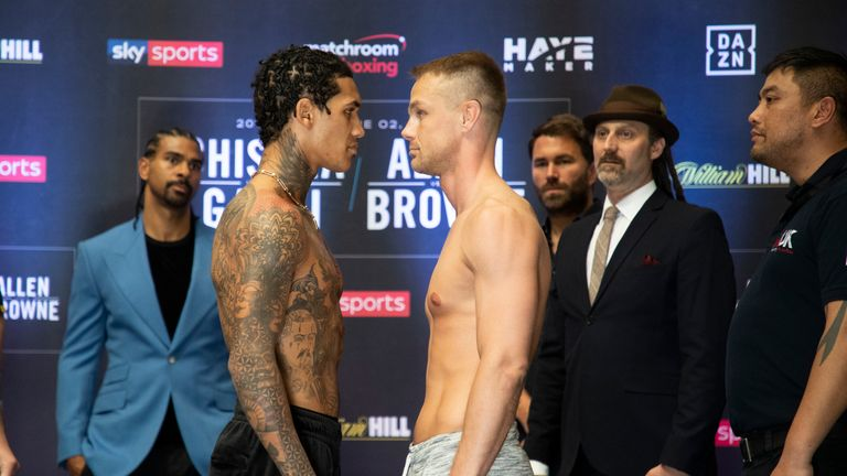 Conor Benn is back in action against Josef Zahradnik