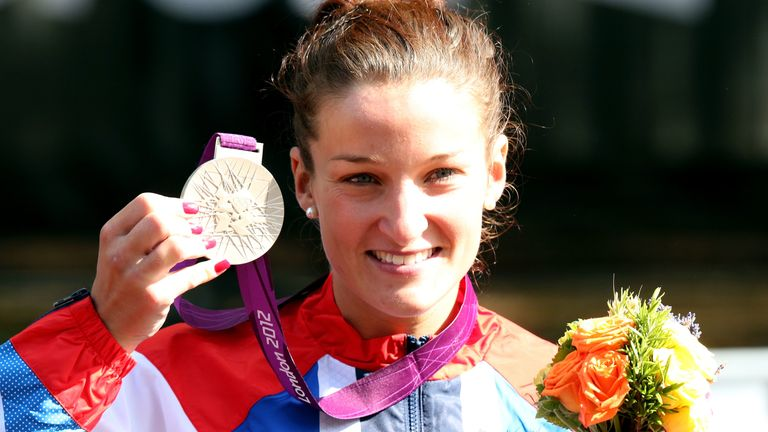 Deignan - then known as Lizzie Armitstead - won silver in the Women's Road Race at London 2012