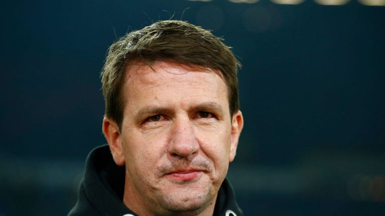 Barnsley manager Daniel Stendel spoke with police on Monday