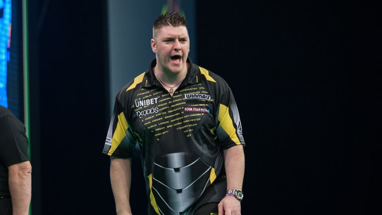 Daryl Gurney is looking to secure his third straight televised win over Michael van Gerwen