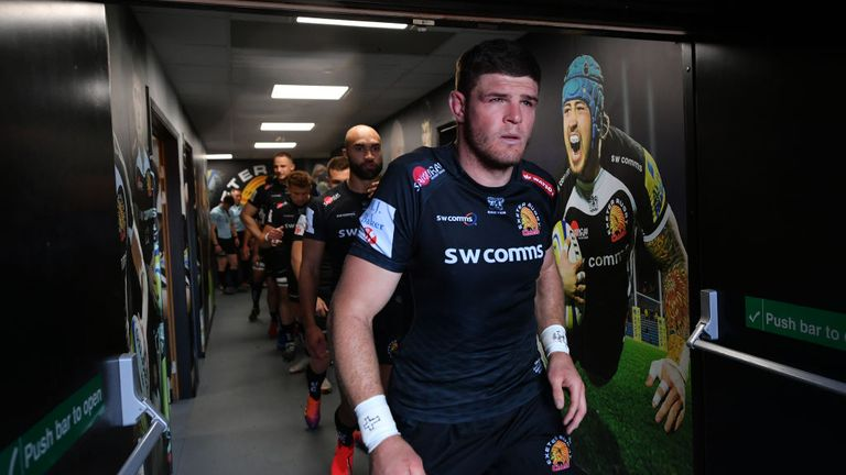Exeter Chiefs' victory confirmed their home semi-final
