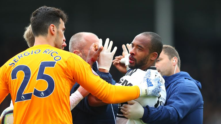 Denis Odoi was struck by team-mate Maxime Le Marchand