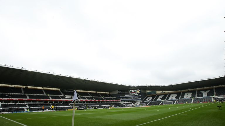 Derby have until Friday to respond to the charge