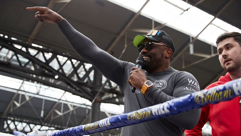 Chisora is just days away from his return at The O2