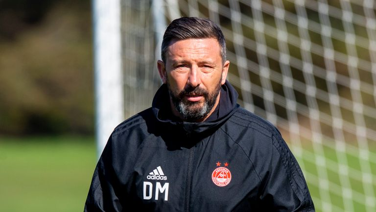 Derek McInnes is understood to still be in the running for the Scotland job
