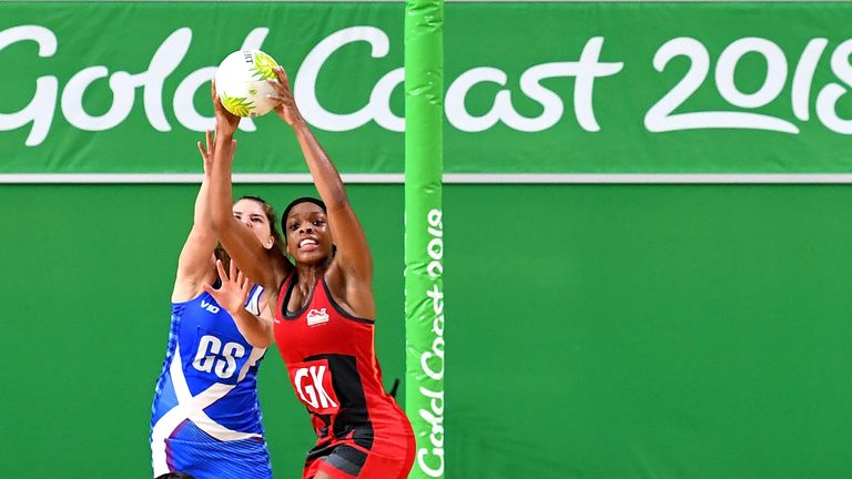 Scotland also met England on the Gold Coast in the Commonwealth Games