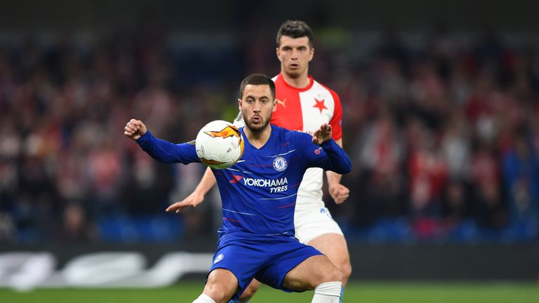 Slavia scored twice in the second half to put the pressure on Chelsea