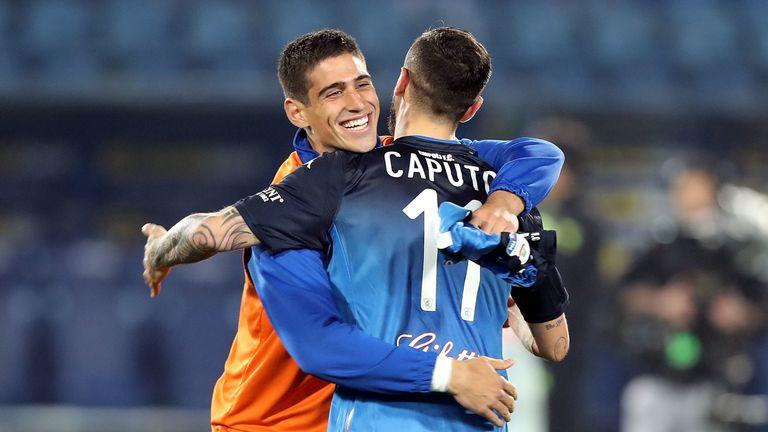 Empoli celebrate their victory