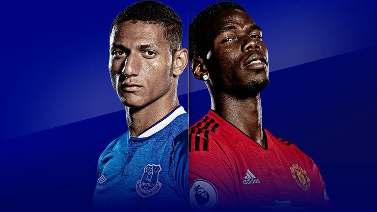 Everton host Manchester United on Super Sunday