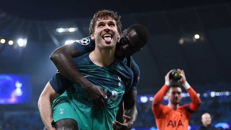 Llorente proved the unlikely hero as Spurs reached the Champions League semis