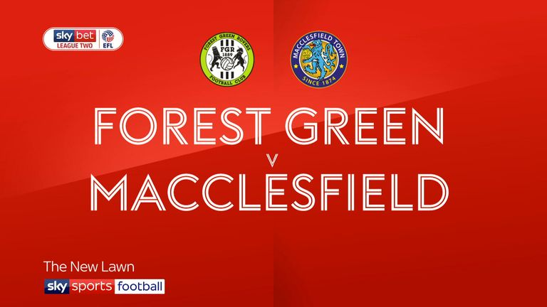 Forest Green 2-0 Macclesfield: Rovers stay on play-offs track