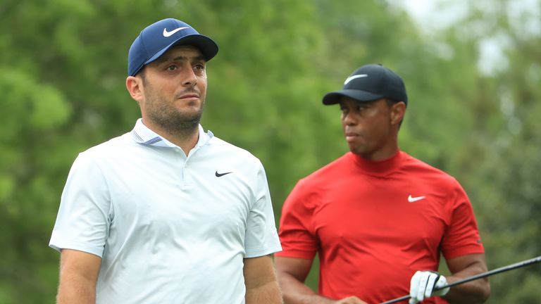 Francesco Molinari looked in control until finding water at the 12th
